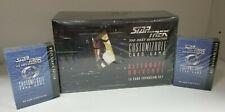 Star Trek TNG Alternate Universe CCG Booster Box with 2 Starter Decks Limited