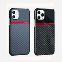 Tcarbon Original Carbon Fiber Case Slim Cover For iPhone 11 Pro Max XS XR 7 8+