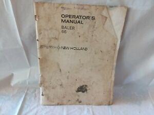 New Holland 66 Baler operators manual