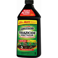 Spectracide HG-55829 Triazicide Insect Killer for Lawns & Landscapes Conc, 40