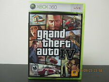 Grand Theft Auto IV  (Xbox 360, 2008) *Tested/Complete/Mint