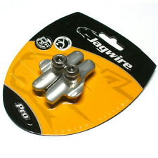gobike88 JAGWIRE Elite Pro Road Brake Shoes / pads Campagnolo, Silver, J60