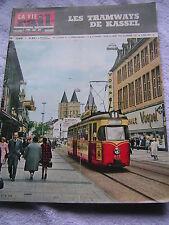 vie du rail 1966 1049 CHARLEVILLE MOHON CYS-LA-COMMUNE GENEVREUILLE CHASSENEUIL