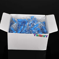 100pcs Blue Dental Disposable Pro Angle Prophy Angles Cup New