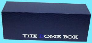 The DOME GRADED CARD BOX BLUE Sports Trading Storage Case Slab PSA Beckett