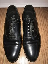 bostonian mens shoes Black Leather Oxfords Size 11.5 Us