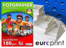 Fotopapier 180 gsm A2 50 Blatt Matt 2-seitig Premium