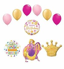 Rapunzel Crown Princess Balloon Birthday Party Supplies and Decorations