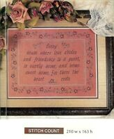 HOME SWEET HOME SAMPLER  - CROSS  STITCH PATTERN ONLY   HM - RUU