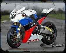 Equipo Honda TT Legends 1 A4 Foto Impresión moto antigua añejada De