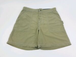 Tommy Hilfiger Mens Swim Board Shorts Large Spell Out Green. GG10