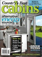Country's Best Cabins Magazine Alternative Energy Sources Green Myths Solar Oven