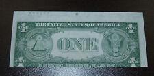 1935E $1 Silver Certificate Error Note - Misaligned Back - Uncirculated!