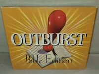 Outburst Bible Edition Fun Family Christian Board Game Clean And 100% Complete