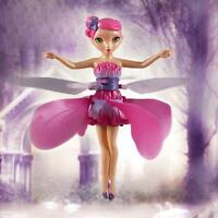 RC Flying Fairy Doll Hand Infrared Induction Control Dolls Child Fly Toy Gift US