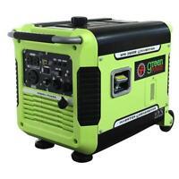 Green-Power America 3500 Watt Gasoline Portable Inverter Generator GPG3500iE