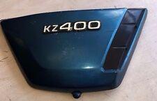 76 KAWASAKI KZ400 RIGHT SIDE PANEL FAIRINGS