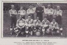 1961  --  FOOTBALL  ANTIBES JUAN LES PINS  F.C.  1938-39   3F436