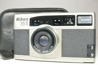 Nikon 35Ti P&S Film Camera Lens 35mm f2.8 from Japan #a1330 Shooting Tested