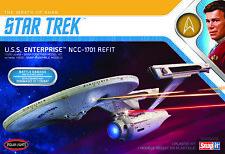 Polar Lights Star Trek USS Enterprise Refit Wrath of Khan Edition 2t 1/1000 974
