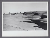 BOEING B-52 STRATOFORTRESS JET BOMBER LARGE VINTAGE PHOTO USAF 14