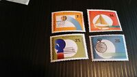 PAPUA NEW GUINEA  1971 SG 200-203 4TH SOUTH PACIFIC GAMES MNH