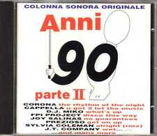 Compilation - Anni 90 Parte II - CD - Eurodance Italodance