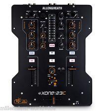 ALLEN & HEATH XONE 23C - 2+2 CH. DJ MIXER w/ SOUND CARD / DVS, Authorized Dealer