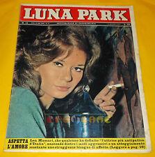 LUNA PARK 1963 n. 11 Lea Massari, Carla Gravina