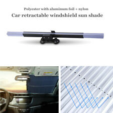 Retractable Car Window Sun Shade Block Visor Sunlight Folding Windshield Cover