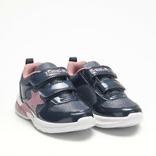 Lelli Kelly Mirka Navy & Pink Light Up Trainer - comes with star headband gift