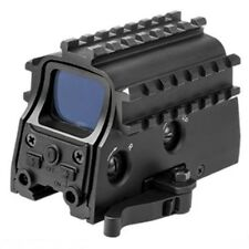 Armored Green Dot Reflex Sight & Red Laser, Fits Any Rifle W/ Picatinny Rails
