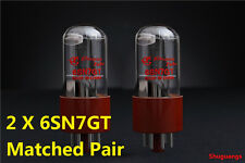 2pcs New Shuguang 6SN7GT(,6N8P,CV181)Vacuum Tubes Matched Pair Tested by Factor