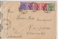 Bizone/AM-Post, Mi. 29 u.a., MiF 916, Obernkirchen Grafsch.Schaumburg - CSR, bri