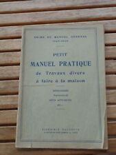 Manuel pratique de travaux à faire à la maison : menuiserie / couture - 1925
