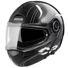Schubert C3 Stripes Black Flip Up Helmet 60/61 XLarge