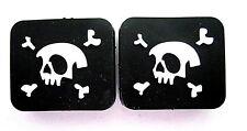 2 Skull & Crossbone Tennis Vibration Absorber Dampeners Pirates Rebels Freedom