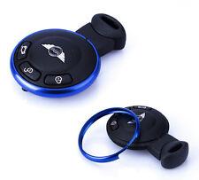 Aluminum BLUE Protective Ring MINI Cooper JCW R55 R56 R57 R58 R59 R60 Key Fob