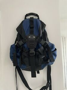 Oakley Rucksack Blue And Black Length 24in Approx
