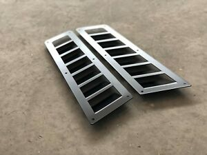 *NEW* Custom Hood Vent Louver Cooling Panel POWDER COATING