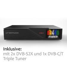 Dreambox DM900 UHD 4K E2 Linux Receiver Triple Tuner 2x DVB-S2X und 1x DVB-C/T