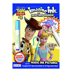 Bendon Disney Toy Story Imagine Ink Game Book With Mess Free Marker NEW