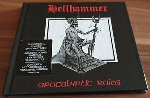 HELLHAMMER apocalyptic raids Digibook 2020 CD ( Celtic Frost Triptykon Venom )