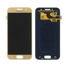 Original Samsung Galaxy A3 A320F (2017) LCD Display ServicePack GH97-19732B gold