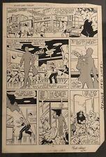 Marvel Original Art - West Coast Avengers 2 pg 8 Bob Hall, Brett Breeding