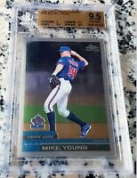 MIKE MICHAEL YOUNG 2000 Topps Chrome Traded Rookie Card RC BGS 9.5 GEM Rangers
