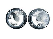 2x Fernscheinwerfer Abblendlicht Positionslicht 12V 24V Universall Traktor Deutz