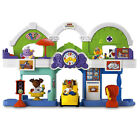 NEW FISHER PRICE LITTLE PEOPLE ANIMALVILLE TOWN CENTER ANIMAL TODDLER PLAY SET