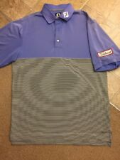 Titleist FJ Staff Short Sleeve Men's Polo Shirt Size Small  Excellent Condition