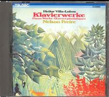 VILLA-LOBOS - Piano Works / A Prole Do Bebe / Rudepoema - Nelson FREIRE - Teldec